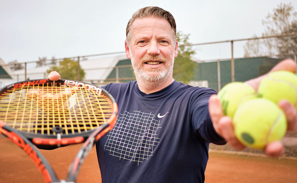Trainer Sportivun Tennis Henk de Vries